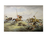 The Hog Chase - the Kill, from 'Orme's Collection of British Sporting Prints', 1822 Giclee Print by Samuel Howitt