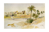 Philae Giclee Print by Edward Lear