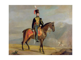 Captain William Drummond (1796-1881) 10th Hussars, 1819 Giclee Print by J. Watson