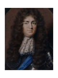 Portrait Miniature of Christopher Monck, 2nd Duke of Albermarle (1653-88) 1680 Giclee Print by Peter Cross