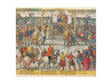 The Execution of Spell of Brabant, Who Had Brought Other Innocent People Back to Life, 11th… Giclee Print by Zacharias Dolendo