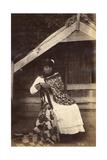 Guide Kate, Te Wairoa, 1885 Giclee Print by George Dobson Valentine