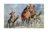 Three Wise Men Giclee Print by Sydney Goodwin