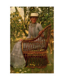 The Tennis Player Giclee Print by Henry Herbert La Thangue
