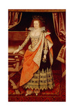 Frances Howard, Countess of Hertford, 1611 Giclee Print by Marcus, The Younger Gheeraerts