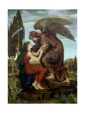 The Angel of Death, 1890 Giclee Print by Evelyn De Morgan
