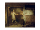 Firing Pottery Giclee Print by William Redmore Bigg