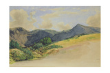 Goat Fell, Arran Giclee Print by William Dyce