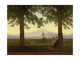 Garden Terrace, 1811 Giclee Print by Caspar David Friedrich