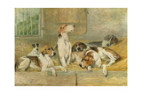Hounds Giclee Print by John Emms