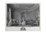 The Assembly at the Concert, Engraved by Francois Nicolas Barthelemy Dequevauviller (1745-1807) Giclee Print by Niclas II Lafrensen
