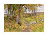 An Autumn Afternoon Impression giclée par Charles James Adams