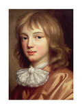 Portrait of the Artist's Son Giclee Print by Mary Beale