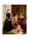 The Governess Giclee Print by Emily Mary Osborn