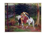 La Belle Dame Sans Merci Giclee Print by Walter Crane