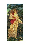 Flora, 1894 Giclee Print by Evelyn De Morgan