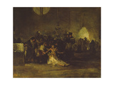 The Exorcism Giclee Print by Francisco de Goya