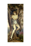 The Dryad, 1884-85 Giclee Print by Evelyn De Morgan