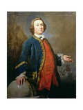 Portrait of Commodore George 'Hookey' Walker (D.1777) Privateer, C.1760 Giclee Print by Andrea Soldi