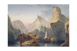 The Black Irkout, Oriental Siberia Giclee Print by Thomas Witlam Atkinson