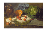 Still Life with Cabbages Giclee Print by Armand-Desire Gautier