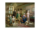 Mr Rickett's Return from Shooting Giclee Print by Edward Bird