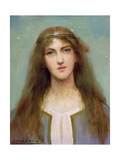 Portrait of a Young Girl Giclee Print by Louise, nee Goode Jopling