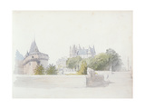 View of Nantes Giclee Print by George Clarkson Stanfield