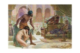The Bitter Draught of Slavery, 1885 Giclee Print by Ernest Normand