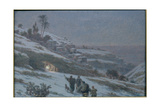 Christmas Night at Bethlehem, 1893 Giclee Print by Ludovic Alleaume