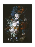 Vase with Flowers, C.1720 Giclee Print by Jan van Huysum