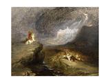 Battle Scene, C.1837 Giclee Print by John Martin