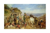 Return from the Shoot Giclee Print by John Frederick Tayler