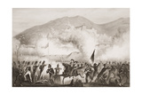 Torres Vedras, 1810, Illustration from 'England's Battles by Sea and Land' by Lieut. Col. Williams Giclee Print by G.W. Terry