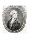 Antoine Laurent Lavoisier, Engraved by Pannemaker-Ligny, from 'Histoire De La Revolution… Giclee Print by H. de la Charlerie
