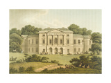 Lord Sidmouth's, Richmond Park, from 'Fragments on the Theory and Practice of Landscape… Giclee Print by Humphry Repton