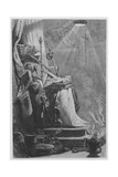 The Emperor Charlemagne in His Tomb Giclee Print by William Bell Scott