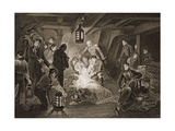 The Death of Lord Nelson, Illustration from 'England's Battles by Sea and Land' by Lieut. Col.… Giclee Print by Anthony Devis