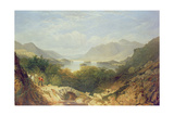 Derwent Water with Ashness Bridge Giclee Print by William Linton