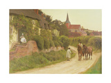 Evening in the Village, 1897 Giclee Print by Henry John Yeend King