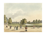 A View in St. James's Park of the Horse Guards and St. Pauls, Taken from Buckingham House,… Giclee Print by Franz Joseph Manskirch