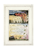 The Clod and the Pebble: Plate 33 from Songs of Innocence and of Experience C.1802-08 Giclée-Druck von William Blake