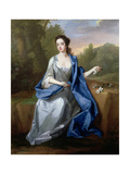 Portrait of a Lady, Thought to Be Elizabeth, Duchess of Beaufort, C.1715 Giclee Print by Michael Dahl