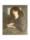 The Lady of Pity, or La Donna Della Finestra, 1870 Giclee Print by Dante Charles Gabriel Rossetti