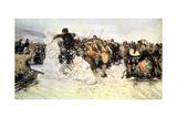 The Capture of the Snow Fortress, 1891 Giclee Print by Vasilij Ivanovic Surikov