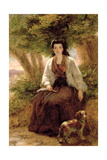 Sterne's Maria, from a Sentimental Journey Giclee Print by William Powell Frith