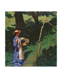 The Artist Giclee Print by Karoly Ferenczy