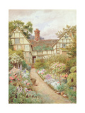 Cottage Garden Giclee Print by Thomas Nicholson Tyndale
