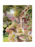 Kings Manor Garden at East Hendred Giclee Print by Charles Edwin Flower