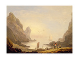 A Secluded Cove Giclee Print by Thomas Luny